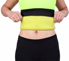 Miss Moly Hot Shapers Neoprene Black Waist Cincher Fit Sweat Body Shaper Belts Slimming font b