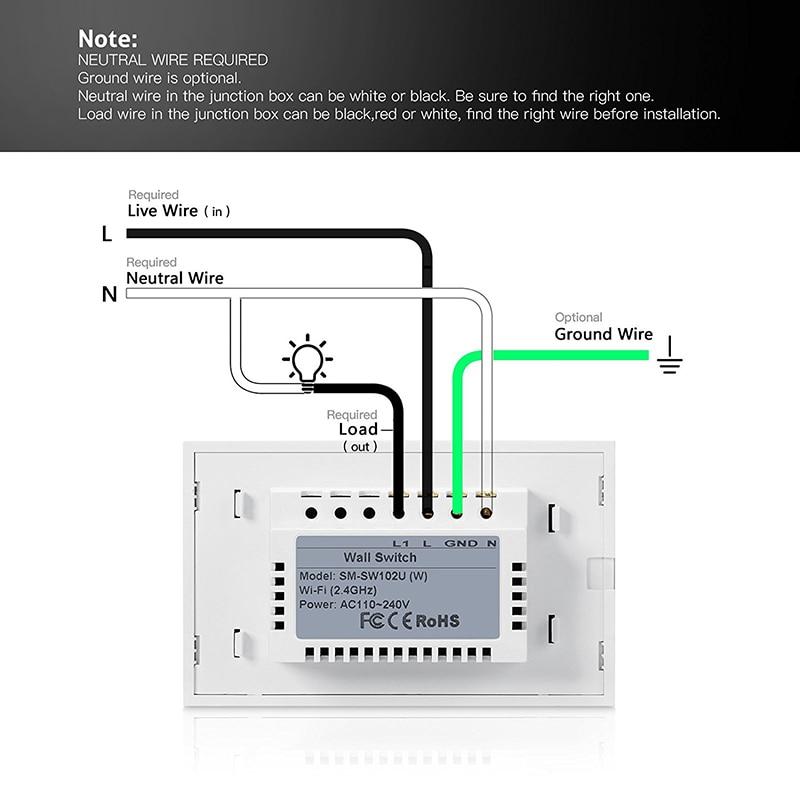 Niedlich Lichtschalter Verkabelung Neutral Fotos - Elektrische ...
