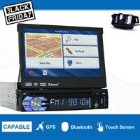 GPS; стереооборудование для автомобиля навигация автомобильный проигрыватель радио dvd плеер 1 din головное устройство автомобильный аудио пле