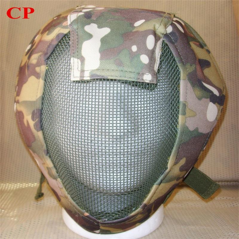 Full Face Airsoft turvavõrgu reguleeritav mask kaitseks sport - Laskmine - Foto 4