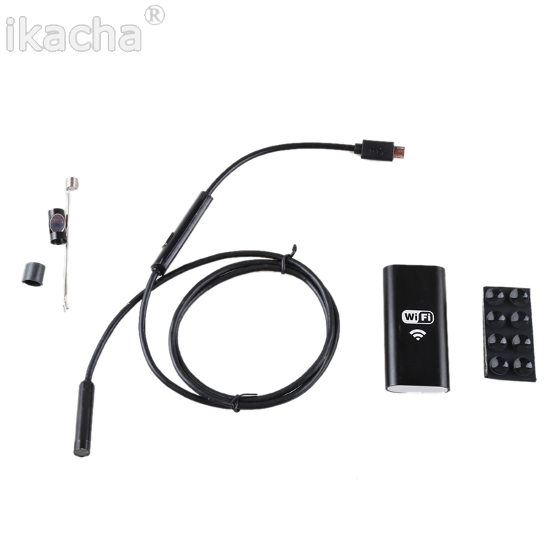 Iphone Endoscope HD 8mm WiFi Endoscope 3.5M Waterproof Inspection (1)