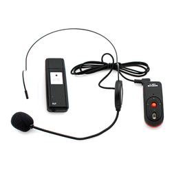 OXLasers 2.4G headset Wireless microphone  with mini USB receiver for conference teaching speech on loudspeaker megaphone