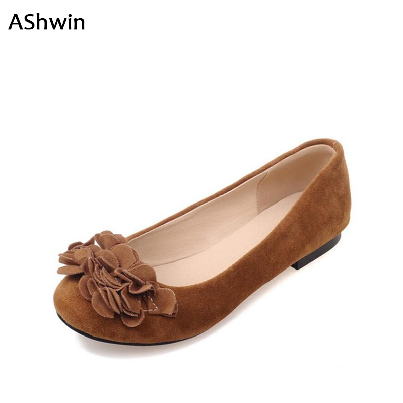 AShwin women loafers ballet shoes flats flower round toe flat casual oxfords large size mother shoes nurse working shoes 35-43 orico hcu type c a to c usb data charging cable for xiaomi 4c pro5 gray silver golden pink