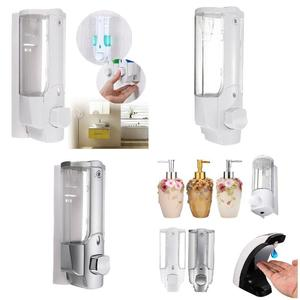 Image 4 - High Wall Mounted Shampoo Soap Dispenser Sanitizer Bathroom Shower Liquid Lotion Pump UEJ