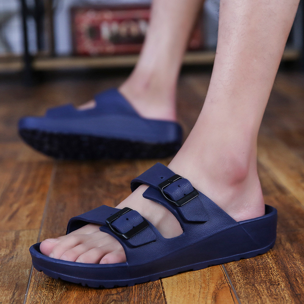 2019 New Flip Flops Men Hot Sale Men's Cloth Cool Slippers Spring /summer Tide Male Shoes High Quality Breathable Apr3(China)