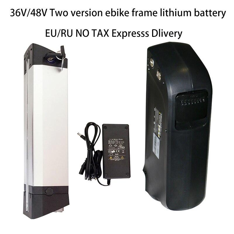 Batterie au Lithium vélo Électrique 18650 Cellulaire Li-ion Vélo alimentation USB 36 v 48 v 10A 12A SAMSUNG LG 14A 16A avec 2A 3A chargeur