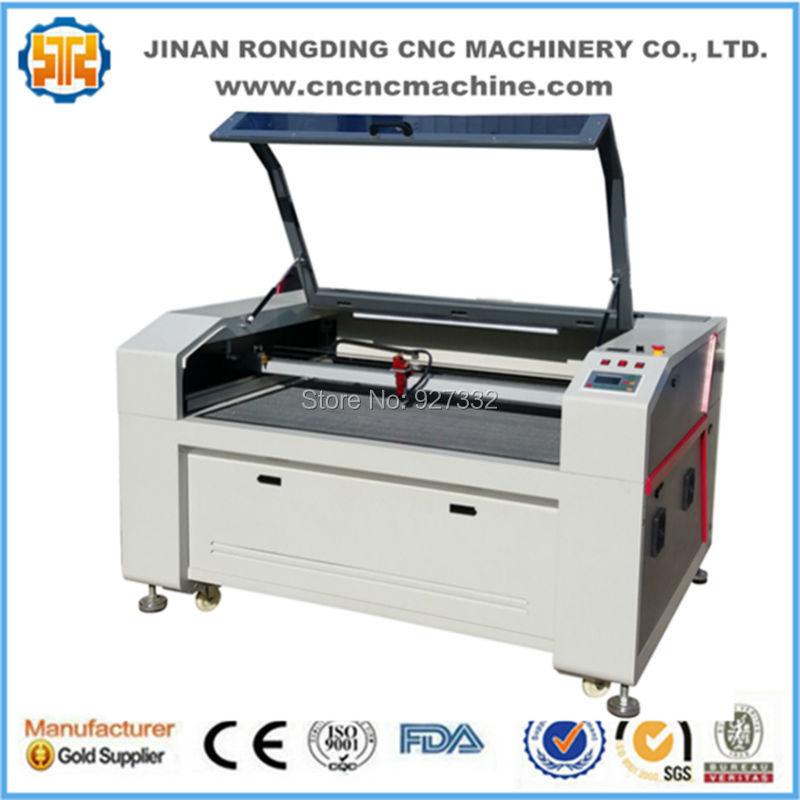 Offre spéciale 9060 Machine de gravure Laser pour verre bambou Jeans cuir bois