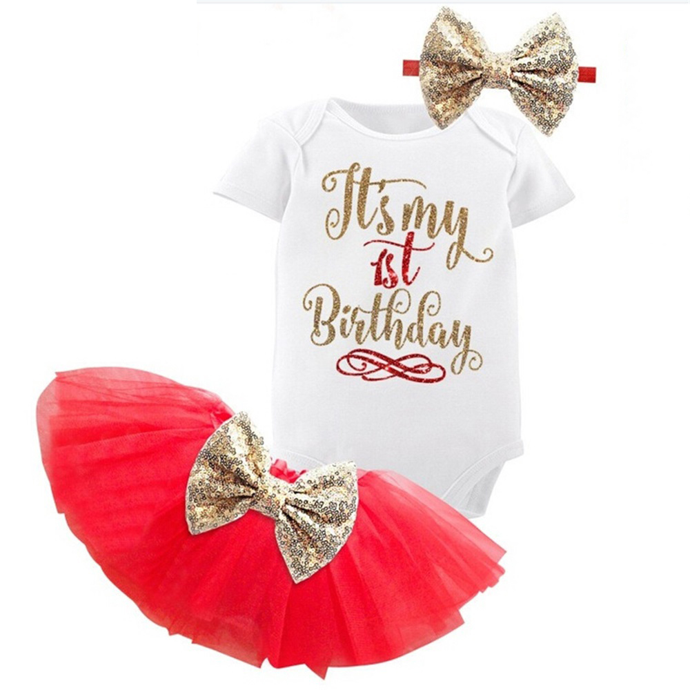 My Baby 1st Fist Birthday Outfits Dresses for Girls Baptism 2 Years Girl Dresses Infant Tolldler Kids Clothes vestido de bebes