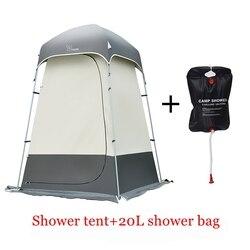 Vidalido wysokiej jakości odkryty mocny namiot prysznicowy/toaleta/przebieralnia opatrunku namiot/odkryty ruchomy WC namiot wędkarski