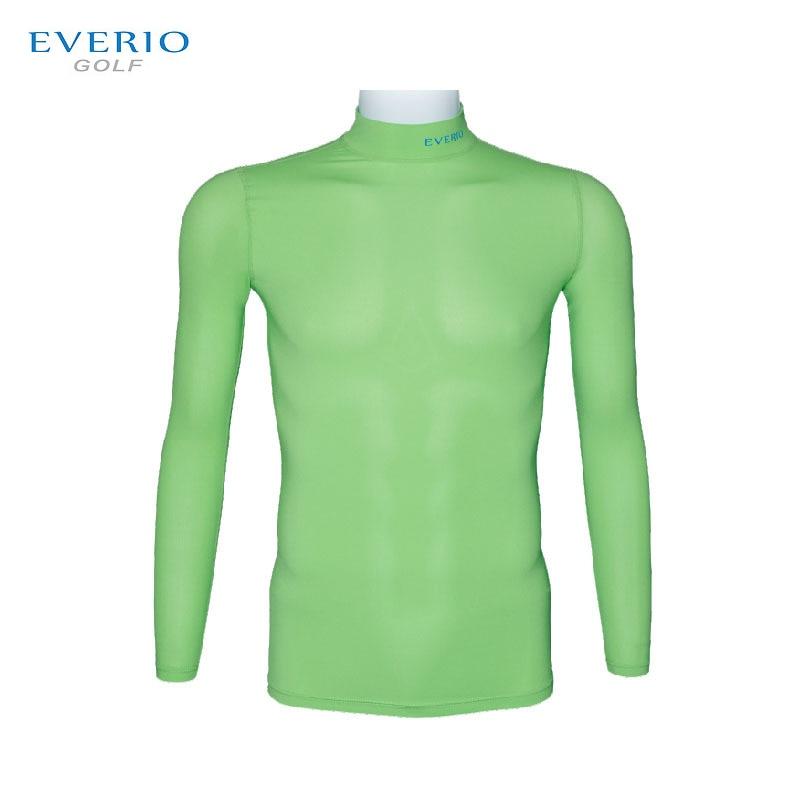 EVERIO Professional Golf Training Bottom Shirts For Men Women Outdoor Sunscreen Golf T Shirt Adult Kids High Elastic Golf Wear