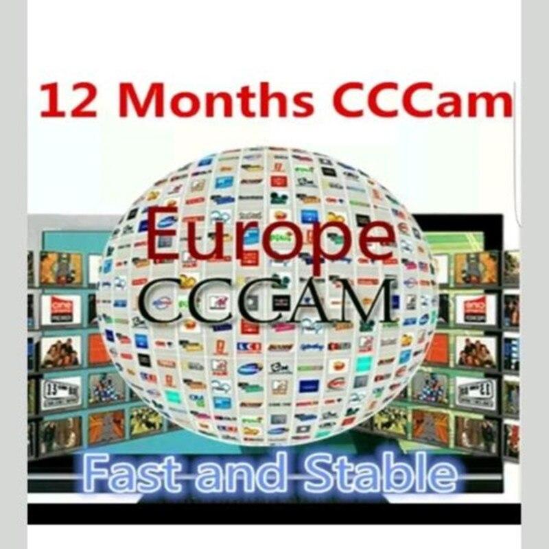 DVB S2 CCcam Cline for 1 Year Europe Satellite TV Receiver GTmedia V8 Nova Freesat V7 Clines Portugal Servers Free CCcam Cline in Satellite TV Receiver from Consumer Electronics