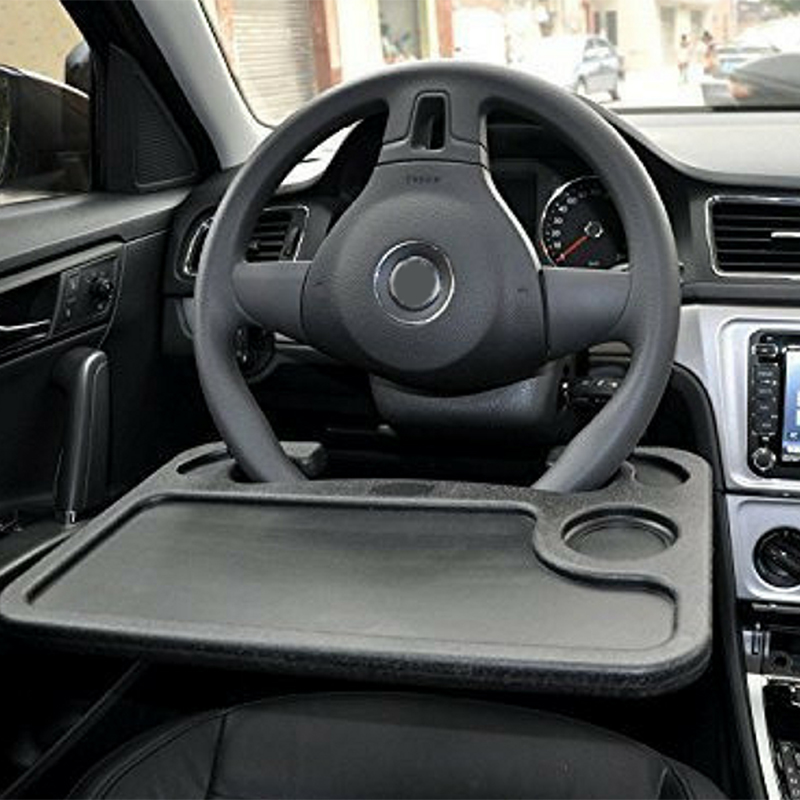 high quality car accessories universal car laptop stand notebook desk steering wheel tray table food drink