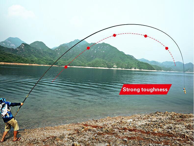 Pesca Telescópica vara de Pesca Vara De Pesca Ultra Leve