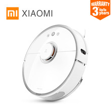 New Original Xiaomi Roborock S50 S51 Robot Vacuum Cleaner 2 Smart Planned Cleaning for Home Office Sweep Wet Mop App Control(China)
