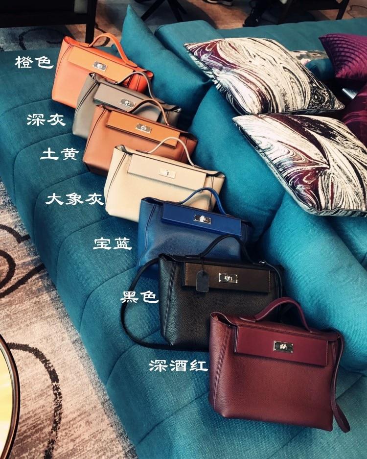 Luxury Designer Handbags 2019 Women Genuine Leather Famous Brand Handbags High Quality Tote Shoulder Bag (1)