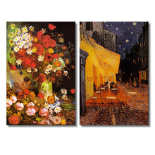 Cafe Terrace at Night By Vincent Van Gogh Diamond Painting Full Round Embroidery Beaded Cross Stitch Wall Decor