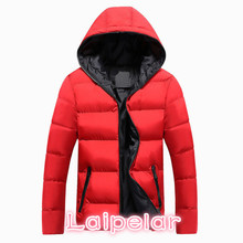 2018 New Jackets Men Winter Casual Outwear Windbreaker Jaqueta Masculino Solid Slim Fit Hooded Fashion Overcoats Homme Plus Size