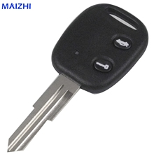 maizhi 2 Buttons Remote Car Key Shell Uncut Blade for Chevrolet Epica Key Case Car-styling