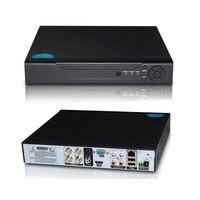 YiiSPO 4CH 1080N TVI CVI AHD 5in1 DVR 8CH 1080P NVR Video Recorder AHD DVR For AHD/Analog Camera IP Camera P2P onvif Xmeye APP