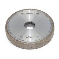 1F1 Металл Бонд алмазный шлифовальный круг для оптического стекло объектив авто шлифовальные станки машины грубой и тонкой шлифовальные абр
