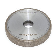 1F1 Metal bond diamond grinding wheel for Optical glass lens auto grinder machine rough and fine grinding abrasive tools DZ цена и фото