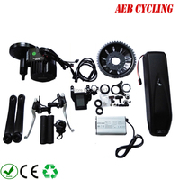 Free shipping and taxes to EU USA fat bike motor kits 48V 1000W BBSHD motor+48V 10Ah hailong shark down tube battery pack