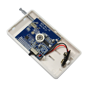 Image 4 - 2 PCS Indoor wireless PIR motion sensor RF 433mhz 1527 chip Frequency GSM Alarm System accessories Infrared Detector
