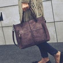 Mujeres Vintage bolso de hombro mujer Causal bolsas de mensajero para compras diarias-propósito de alta calidad mujeres bolso