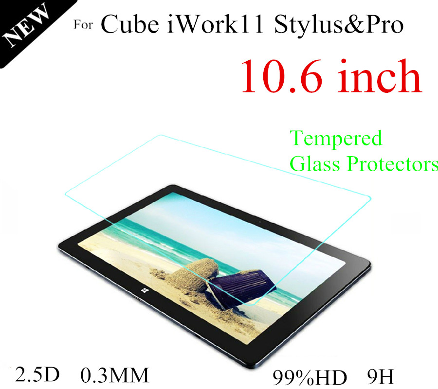 For Cube iwork 11 10.6 inch Glass Protectors For Cube iWork11 10.6'' inch Screen Protective Films 0.3 mm explosion proof