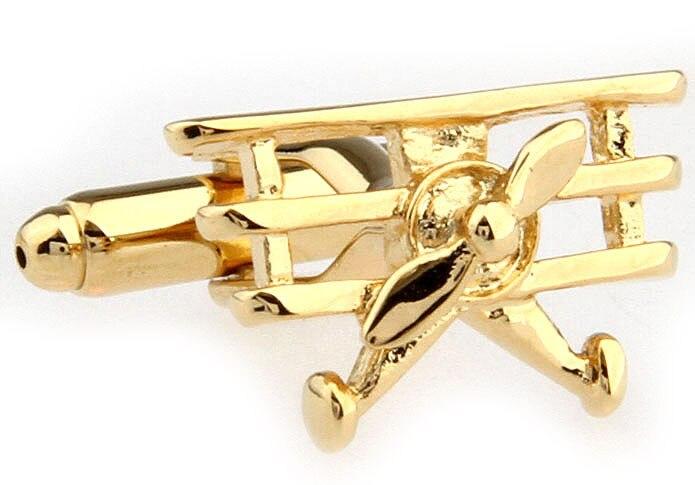 Mfys популярные хорошего Материал Для мужчин запонки Повседневное военный высокое качество Золотое покрытие запонки 170846