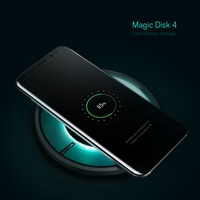 Nillkin Magic Disk 4 Fast Charger For Samsung S8 S8 Plus Qi Fast Wireless Charging Pad