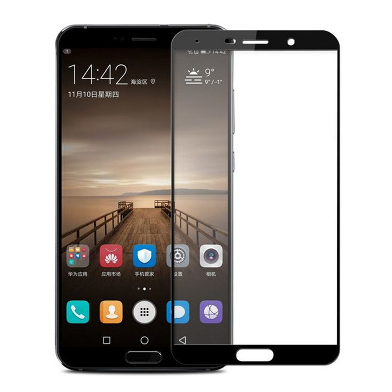 HD tempered glass for huawei mate 10 pro full cover film Protective screen protecor for huawei phone film Tela pelicula de vidro