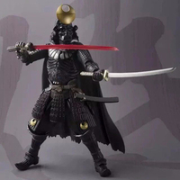 17cm Star Wars Action Figure Samurai Taisho Darth Vader Model Kits Kids Hobbies Collectible Toys Christmas Gift Decor Gadgets