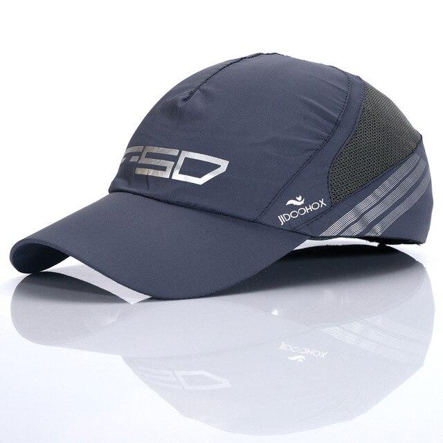 New HOT Summer new men wicking , quick drying quick- drying cap visor cap baseball cap sun hat Free shipping