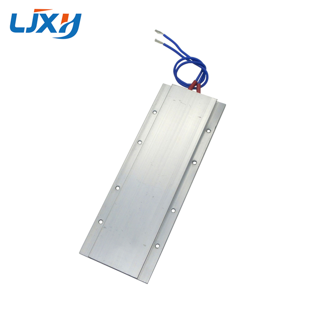 Elemento de Aquecimento do PTC LJXH 60/80/100/120/150 Graus 170x62x5.5mm AC220V Aquecedor Termostato Placa de Potência 140/160/180/240/300W