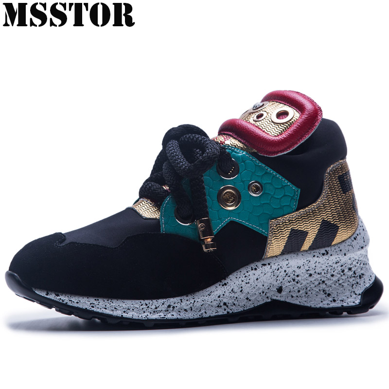MSSTOR Womens Running Shoes Woman Brand Large Size 35-42 Sports Run Outdoor Athletic Sport Shoes For Women 2018 Womens Sneakers msstor women running shoes summer breathable mesh sport shoes for woman brand outdoor athletic sports run womens sneakers 35 40
