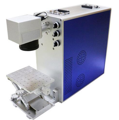 20W Portable Fiber Laser Marking Machine Metal Marking Laser Engraving Machine For Metal Wood PVC Plastic