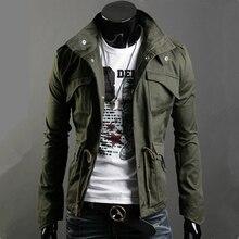 Для мужчин куртка Для мужчин пальто Модная одежда Горячая Распродажа Осень пальто и пиджаки весна зима куртка с карманами