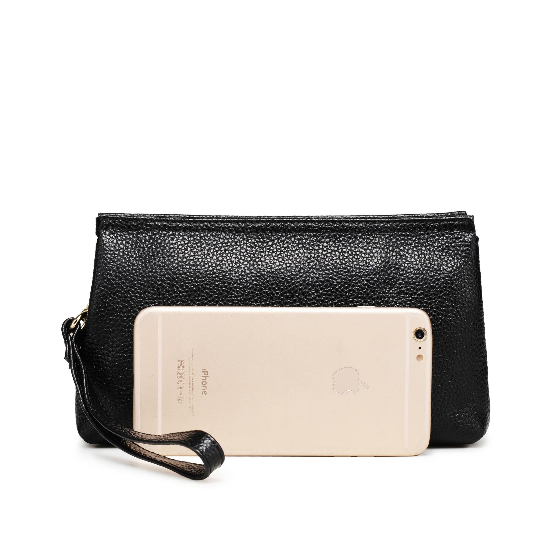 24951112caff Icev повседневные 100% бычья кожа сумки Высокое качество Натуральная кожа  сцепления женщин сумки женские сумка женская день сцепления   Клатчи с  Алиэкспресс ...