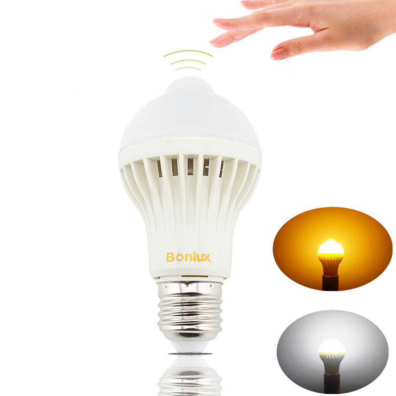Aliexpress.com : Buy LED PIR Motion Sensor Light Bulb 5W ...