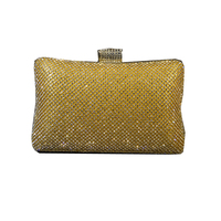 2017 New Brand Fashionable European And American Style Czech Diamond Package Bag Aluminum Drill Evening Women Wallets Bridal Bag