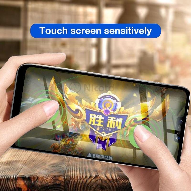 Nicotd Tempered Glass for Xiaomi Mi A2 Lite 9H Full Cover Film Screen Protector for Xiaomi Redmi 6 pro Glass for Xiomi Mi A2Lite (3)