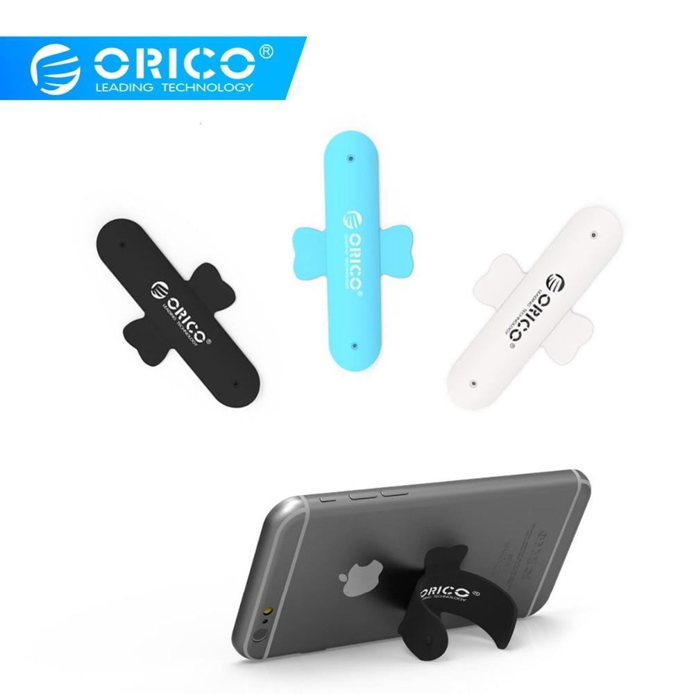 Orico Su1 U-shaped Ring Phone Holder Universal Portable Back Sticker For All Smartphones Tablet Black/blue/white