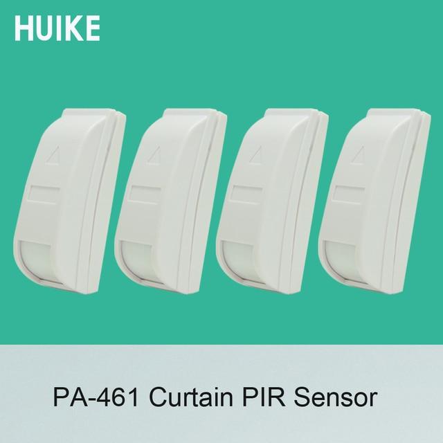 4 PCS/Lot 461 Wired Passive Infrared Detector Mini Curtain PIR Motion Sensor For Home security Indoor Curtain burglar alarm
