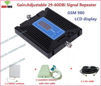 Newest LCD Display GSM 900Mhz Repeater High gain Cellular Mobile Signal Repeater GSM Signal booster Cell Phone Signal Amplifier