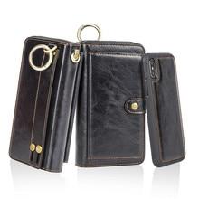 цены на Multifunction Zipper Luxury PU Leather Wallet Case For iPhone XS X 6 6S 7 8 Plus Stand Back Cases For iPhone 6 6S Bags Capinha  в интернет-магазинах