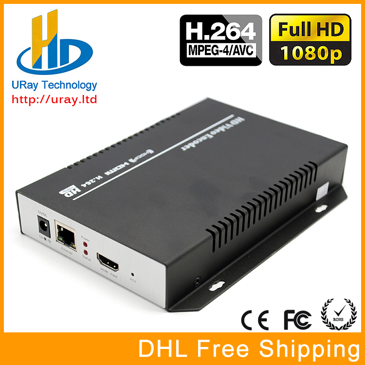 DHL Free Shipping MPEG4 /H.264 HDMI To IP Encoder /HD Video Streaming Encoder For IPTV, Live Streaming Broadcast, Media Server