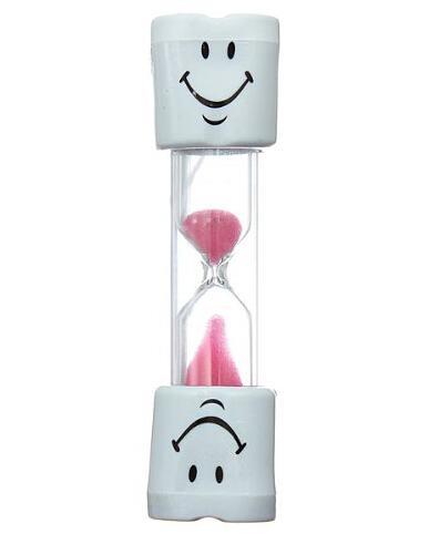 1pc 3 minuters timglas Sand Timer Clock Sandglas för tandborste - Heminredning - Foto 4