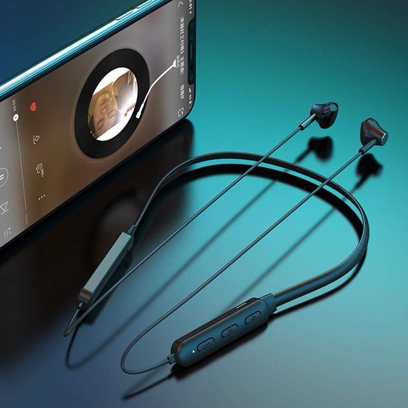 Waterproof Sport Headset Phone Handsfree True Wirelles Earphones Touch Tws Earphone Noise Canceling Bluetooth 5 0 Earbuds Wifi in Bluetooth Earphones Headphones from Consumer Electronics