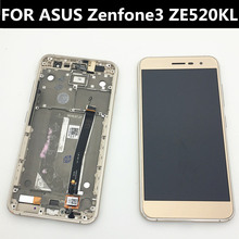 For ASUS Zenfone3 ZE520kl Z017D LCD Display+Touch Screen+frame+tools  5.2